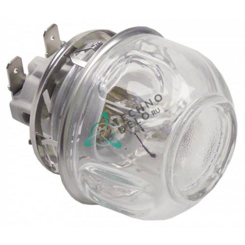 Лампа печи 300°C (E14/монтаж 47,8мм/230В/15Вт) термостойкий комплект для конвекционной печи
