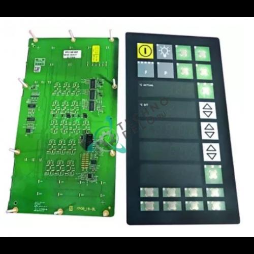Блок управления (панель 504077.72A FP8) расстоечной камеры MIWE MGT, GR