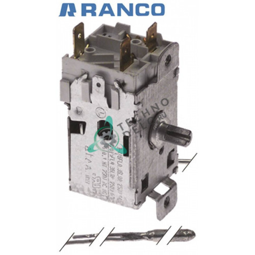 Термостат Ranco K22-L1075 трубка L2900мм 620263.03 для Icematic, Scotsman, Simag и др.