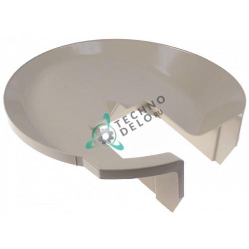 Ванна H140мм ø495мм 086333 66048700 распылительной системы льдогенератора Electrolux, Scotsman и др.