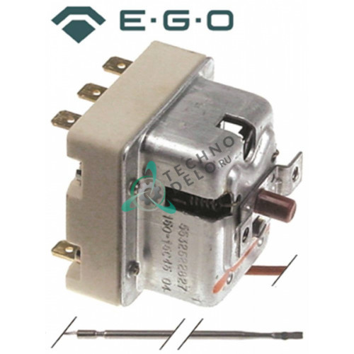 Термостат защитный EGO 55.32522.827 / температура отключения 150 °C 3 фазы