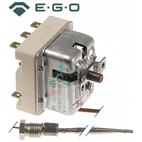 Термостат защитный EGO 55.32545.802 / температура отключения 235 °C 3 фазы