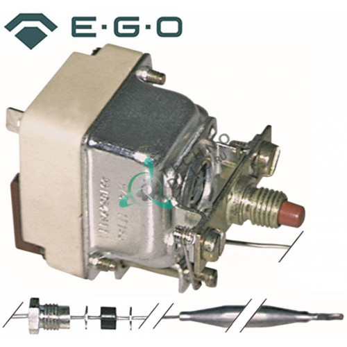 Термостат защитный EGO 55.10542.841 / температура отключения 220 °C 1 фаза